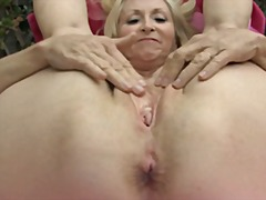 mature, finger, masturbation,