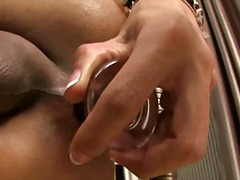 ladyboy, toy, anal, shemale, strapon,