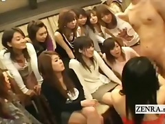 college, handjob, students, bizarre, group, japan, fetish, cfnm, japanese, weird,