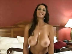 Big breasted mom bange... video
