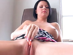 pussy, tits, natural, brunette, shaved, monster, school, masturbation, boobs, mature, work, solo
