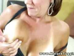handjob, tits, cougar, big, mature