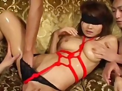 Tube8 Movie:Hot asian chick bounded and fe...