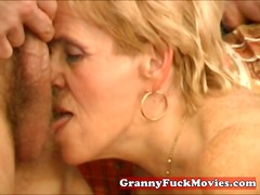granny, amateur, blonde, older,