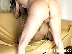 Busty shemale kalena g... video
