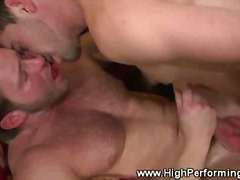 PornoXO Movie:Muscled jocks tight butthole f...
