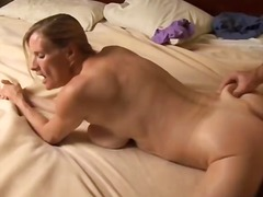 busty, housewife, mom, titjob,