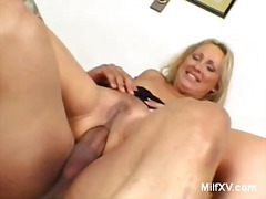 Milf mandy does anal with black guy