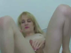 small, blonde, solo, cumshot, tits