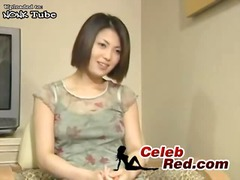 Cute japanese teen on ... video