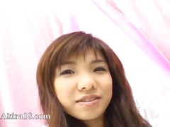 Cute japanese teenie t...