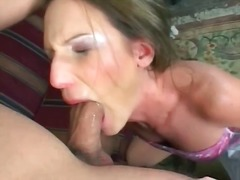 Big cock uses mouth as... video