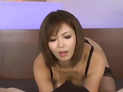 Sexy tanned mai kuroki... video