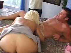 Slutty blonde wife cuc...