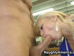 PornSharia Movie:Skinny small titted blonde mon...