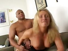 Nasty milf gets pounde...