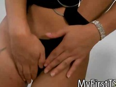 aShemaleTube Movie:Juliana araujo bends over for ...