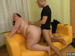 He weighs the fat chic... - Alpha Porno