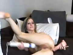 Thumbmail - Skinny hot blonde and ...