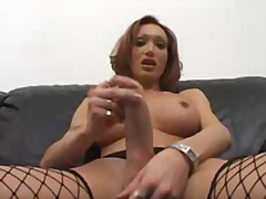 boobs, stockings, masturbation, solo,