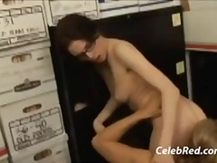 Lesbian office seducti... video