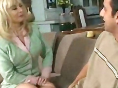 facial, stockings, blowjob, milf,