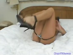 Teen sticks fingers in... - Tube8