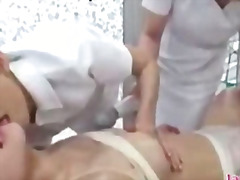 Asian girl massaged wi... video
