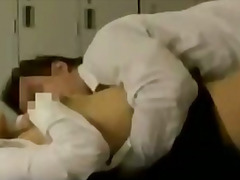 Office lady in pantyho... video