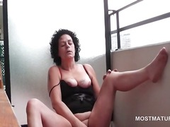 masturbation, older, mature, granny, amateur, hardcore, mom, milf