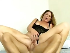 Mature woman rough anal