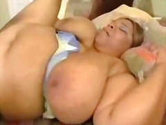 Gigantic fat black bitch fucking