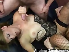 gangbang, mature, interacial, group