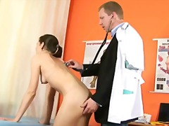 kinky, speculum, gyno, shaved, insertion