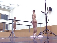 Ballerina onn her toes... video
