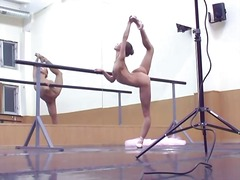 flexible, dancing