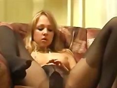 Tube8 - Alena in pantyhose 3 r...