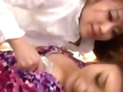 2 asian girls kissing ... video