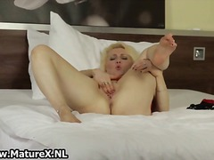 stockings, masturbation, solo,