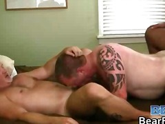 Humping hard cock and big gay bear asses