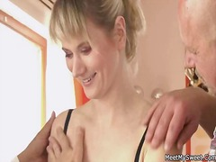 Mature mommy and seduc... video