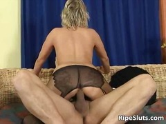 pantyhose, hardcore, blonde, mature,
