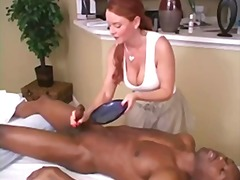 Hot cougar massage & c... video