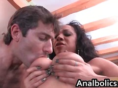 Big natural tits misty love gets fucked