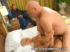 Fellatio stimulation by wife