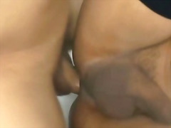Sexy shemale with horny guy
