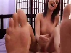 See: Foot fetish handjob