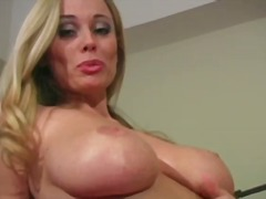 Huge titted blonde ani... - Yobt
