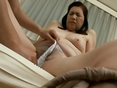 japanese, blowjob, hairy, granny,