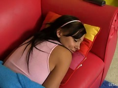 Over Thumbs Movie:Cute ivy winters rides cock fo...
